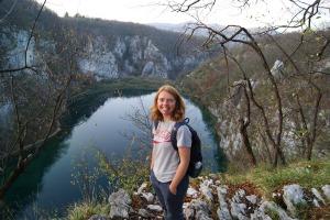 Me at Plitvice Lakes