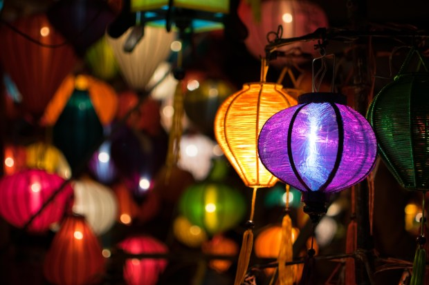 Hoi An lanterns at night