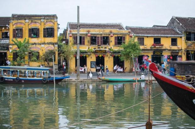 Hoi An harbour