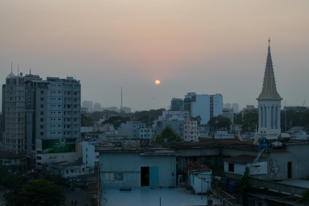 Sunset over Saigon