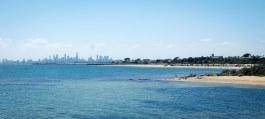 The Melbourne sky line