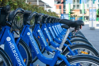 Melbourne 'boris' bikes