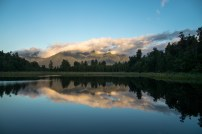 Reflections on Lake Matheson