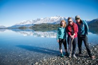 Dee, Anna and I on the way to Glenorchy