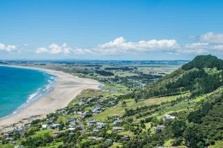 View from the lookout over Ninety-mile Beach